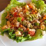 Salade de thon à l'argousier