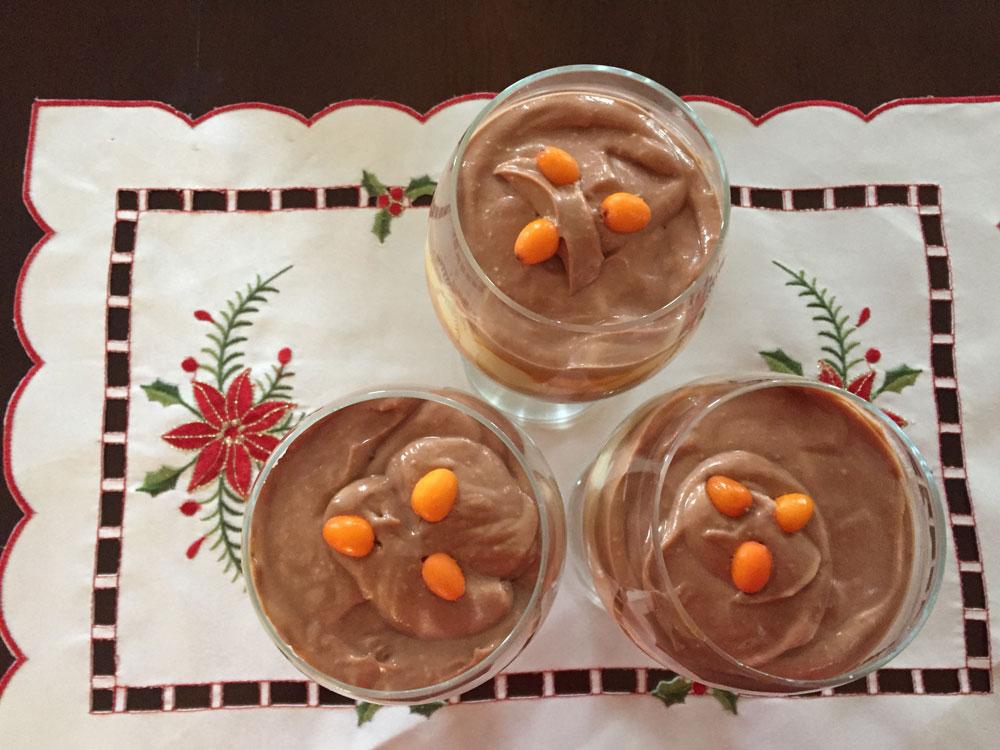 Tiramisu chocolat et argousier